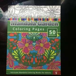 Mandala Garden Coloring Book for Grownups