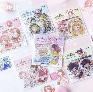 🚚 NEW!❤️ anime girls stickers