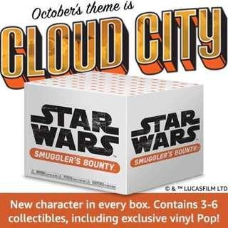 🚚 Funko Pop Cloud City Smugglers Bounty Subscription Box Exclusive Vinyl Figure Collectible Toy Gift Star Wars