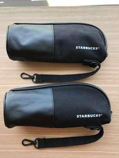 Starbucks bottle holders x 2