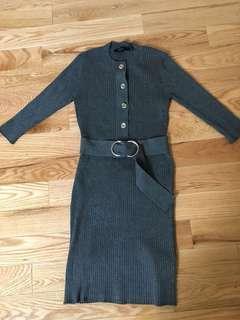 Grey Gucci dress