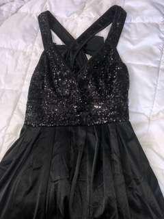 Sequence Little Black Dress