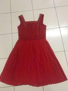Red dinner sexy Dress