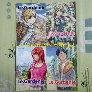 (FREE POSTAGE!) Buku Komik Comic Novel Grafik Manga Gempak Starz - Le. Gardenie FIRST PRINT karya Ben Wong [COMPLETE SET]