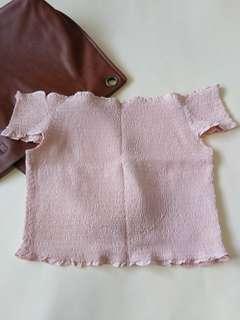 Big Sale!!! COTTON ON Pastel Pink Off Shoulder