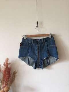 品牌設計款牛仔短褲