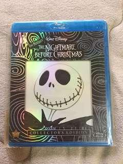 The Nightmare Before Christmas blu ray