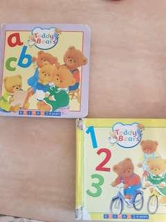 brimax 2-4 y, ABC, 123 books hard board