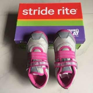 Stride Rite Felicia Grey/Pink Shoes