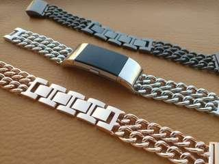 🚚 Glamorous Metal Bracelet for Fitbit Charge 2