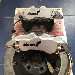 Audi A4 A5 S4 S5 RS4 RS5 Alcon Advantage Extreme Mono 6 BBK Big brake kit