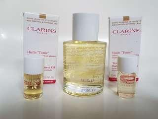 Clarins Huile Tonic Body Treatment Oil 100% brand new