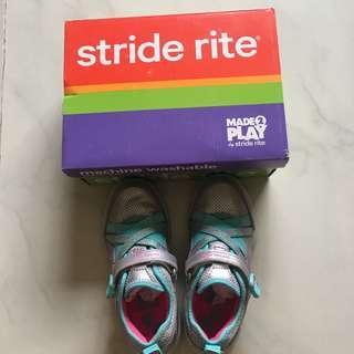 Stride Rite Serena Silver/Blue Size 11M