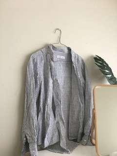 Assembly Label xs - s long sleeve linen