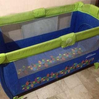 Asalvo Baby Crib/Playpen + Customized Uratex foam