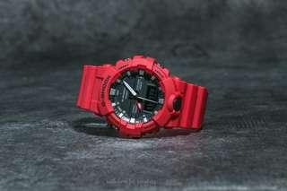 🔴🔴Brand New 100% Authentic Casio Gshock GA800 Red Multi Function Unisex Watch with FREE DELIVERY 📦 G-Shock
