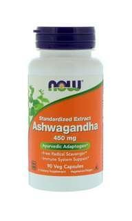 Now Foods, 南非醉茄,450毫克,90粒素食膠囊  Now Foods, Ashwagandha, 450 mg, 90 Veg Capsules