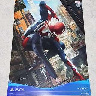 PS4 Spiderman poster xbox one 2018 movie fwfrwe weewewtrf