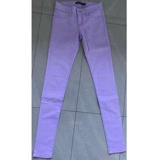 Glassons : Woman Purple Skinny Denim Jeans Size 6 - Excellent Condition