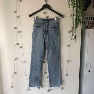 glassons // high waisted jeans