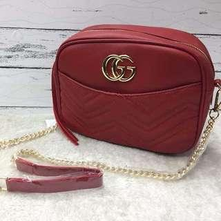 Sale!! Brandnew Authentic Quality Gucci Sling Bag (Chain Handle)
