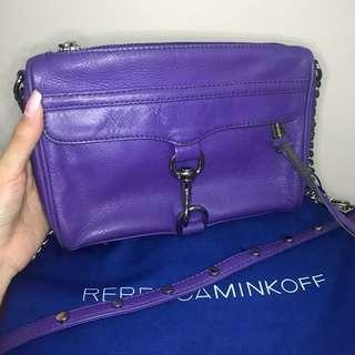 Rebecca Minkoff Mini MAC in purple