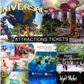 USS|Zoo|River|SEA|MBS|Gardens|others