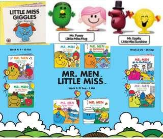 [Juniorcloset] 2018 Happy meal McDonald's Mr Men Little Miss