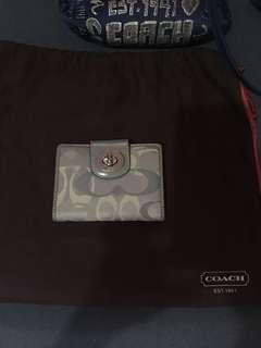 AUTHENTIC COACH BIFOLD WALLET