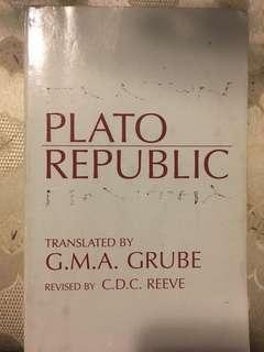 Plato republic PHL100