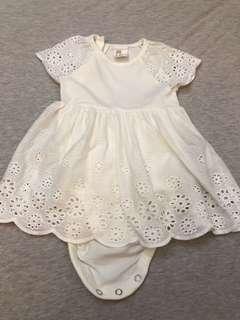 H&M女嬰包屁洋裝