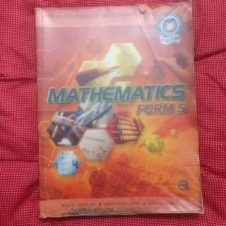 #OCT10 Buku Teks Mathematic form 5