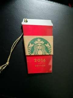 Starbucks Christmas collector card 2016