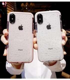 Iphone Samsung TPU protective crystal design casing