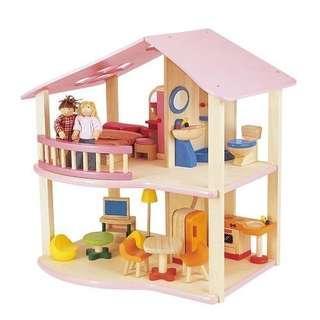 班恩傑尼-木製娃娃屋