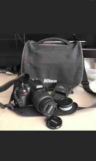 Nikon D5100 DSLR ori battery & charger