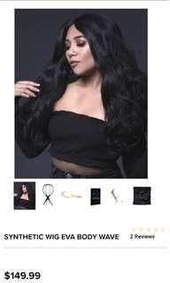 "Just arrived Bellami Black Bodywave Hair Wig 22"""