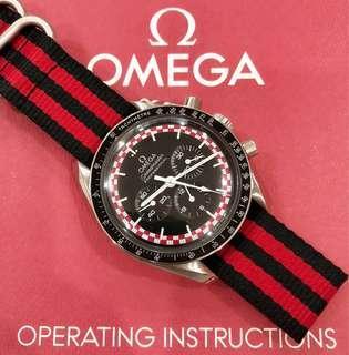 Omega Speedmaster aka Tintin Tin Tin Racing Dial Rolex