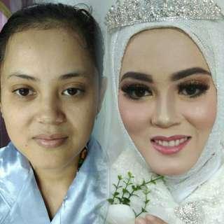 Make up akad tanpa cukur alis
