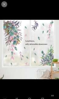 Creative wall stickers waterproof stickers self-adhesive living room cabinet door corner bedroom dormitory bedside decorative painting warm