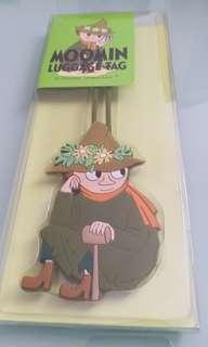 韓國Moomin姆明一族史力奇行李牌Luggage Tag