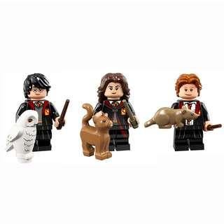 LEGO Harry Potter Minifigures 71022 - Harry, Hermione & Ron ( Set of 3)