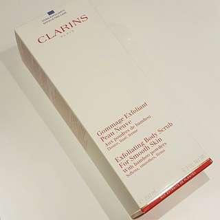 Clarins Exfoliating Body Scrub 200ml BRAND NEW