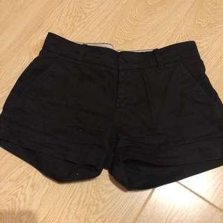 (保留)Uniqlo黑色短褲