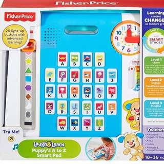 BNIB: Fisher Price Laugh & Learn Puppy's A to Z Smart Pad