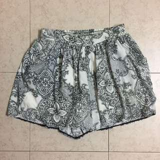 White Black Shorts Good Quality #3x100