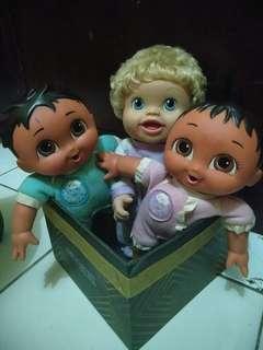 Boneka take all ori dora diego baby alive