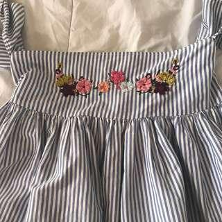Zara Baby Doll Top (NO HAGGLING THE PRICE)