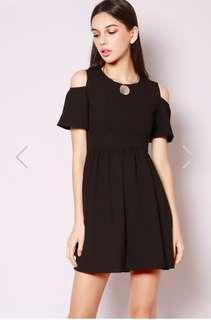 Brand New! Off shoulder black dress