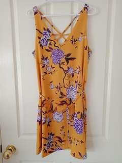 Spring Floral Dress 8